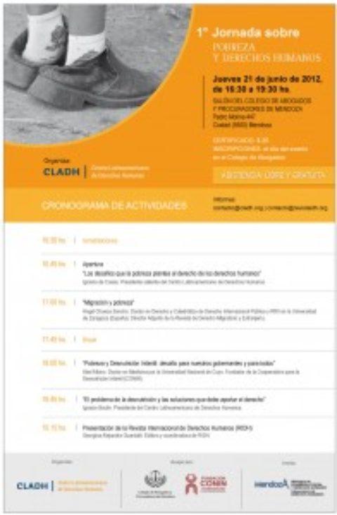 I Jornada sobre Pobreza y Derechos Humanos