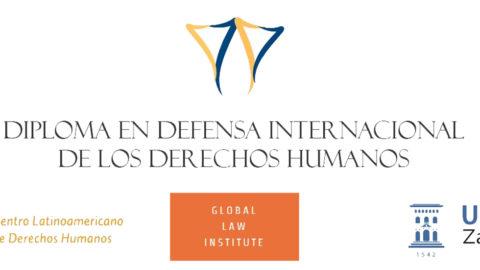 """""""Diploma en Defensa Internacional de los Derechos Humanos"""""""