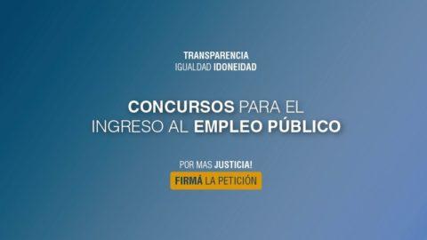El CLADH sigue con su campaña on line a favor de los Concursos Públicos en Mendoza (Argentina)