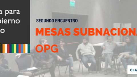MESAS DE DIÁLOGO SUBNACIONALES: Fortaleciendo las políticas de Gobierno Abierto