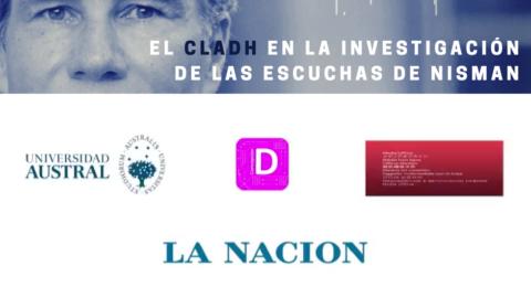 El CLADH colaboró con La Nación Data en la investigación de las escuchas de Nisman