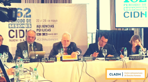 El CLADH estuvo presente en el 162 Período Extraordinario de Sesiones de la Comisión Interamericana de Derechos Humanos