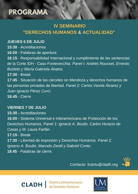 Programa Seminario 2
