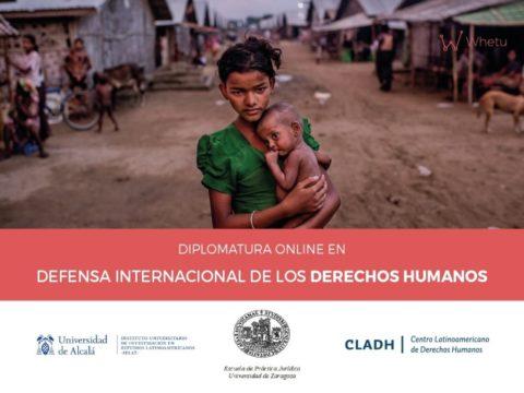 El CLADH lanzó la Diplomatura Online en Defensa Internacional de los Derechos Humanos