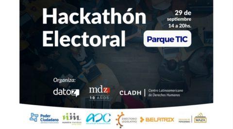 El CLADH y MDZ Online te invitan a la Primer Hackathon Electoral en Mendoza