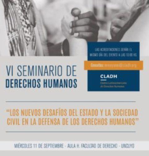 EL CLADH INVITA A SU VI SEMINARIO DE DERECHOS HUMANOS